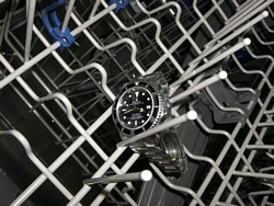 Rolex on the rack