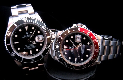 Rolex Watch Submariner GMTII