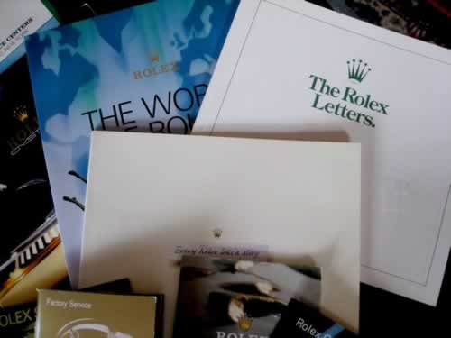 Rolex Books and Brochures