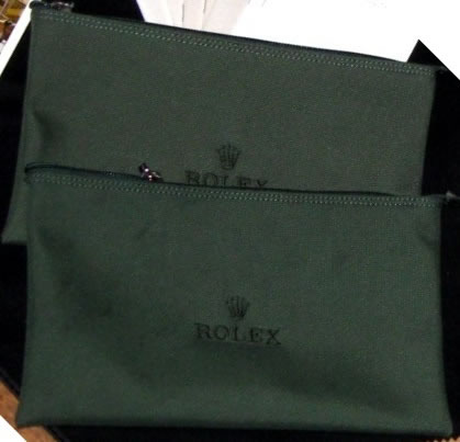 Rolex Golf Pouches