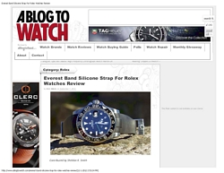 ABlogtoWatch Everest and Rolex