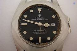 Toasted Rolex GMT watch head